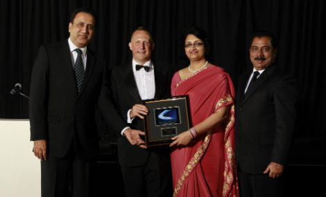 Triad Software Services received the Middle East Partner of the Year award for 2013